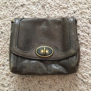 Fossil Leather Wallet or Change Purse
